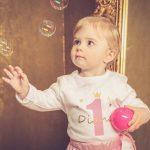 Hurra, die Party kann beginnen - Dianas erster Kindergeburtstag