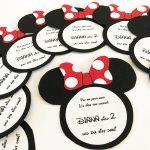DIY Minnie Mouse Einladungskarten - eine Anleitung für alle Disney Fans