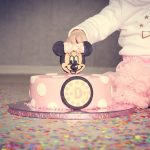 Minnie Mouse Geburtstagstorte - Rezept für eine Motivtorte